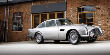Legendäres James Bond-Auto DB5 versteigert