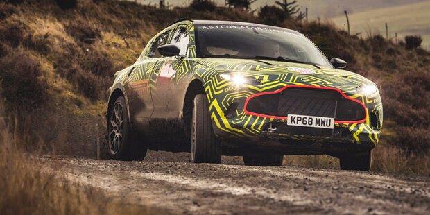 Aston Martin greift mit SUV