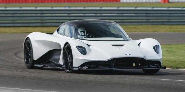 Neuer Aston Martin V6 debütiert im Valhalla