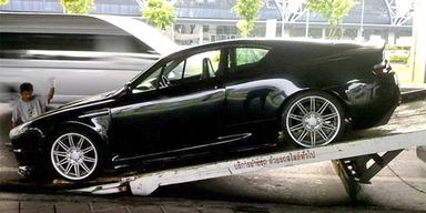 Tuner bauten alten Opel zu Aston Martin um