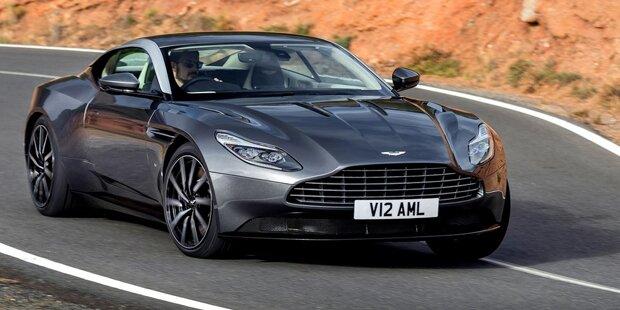 Aston Martin greift mit dem DB11 an