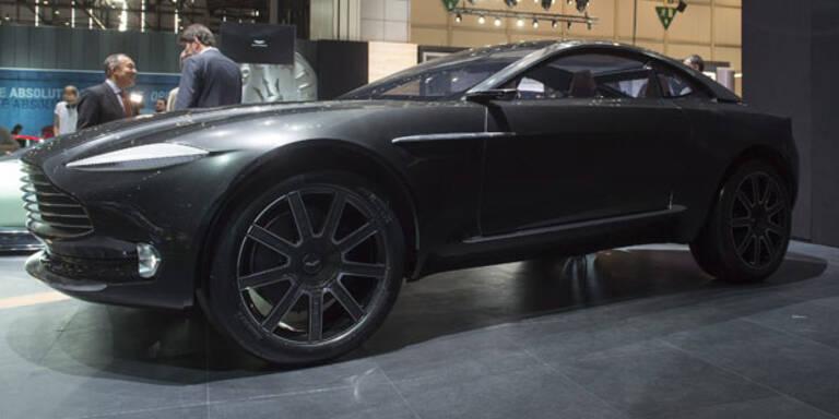 Auch Aston Martin greift mit SUV an