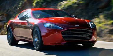 Aston Martin stellt den Rapide S vor