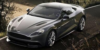 Jetzt startet der neue Aston Martin Vanquish