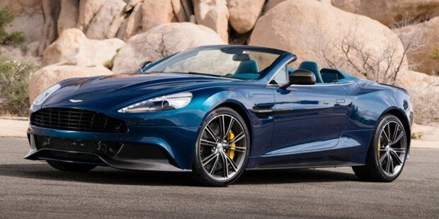 Das ist der Aston Martin Vanquish Volante