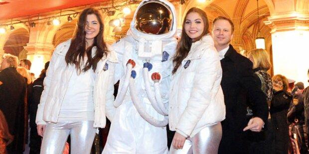 Hingucker am Red Carpet: Ein Astronaut