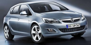 Opel Astra. Der Hoffnungsträger aus Rüsselsheim erreichte den letzten Platz am Podium.
