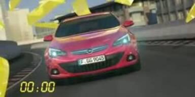 Erste Animation vom Opel Astra GTC