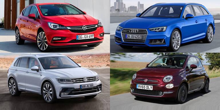 A4, Astra, Tiguan & Co die großen Gewinner