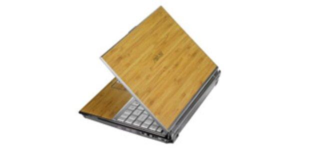 Asus bringt sein Bambus-Notebook auf den Markt