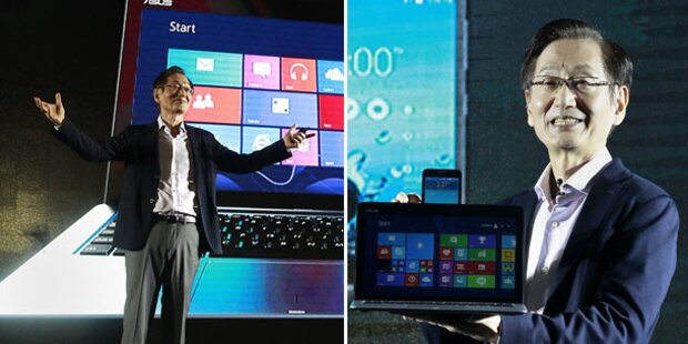Asus-Hybrid aus Tablet, Smartphone & Laptop