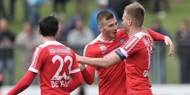 Austria vor Derby wieder auf Kurs