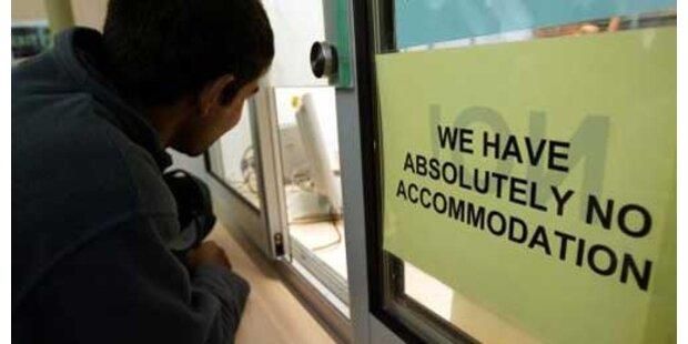 Asylanträge um 40,6 Prozent gesunken
