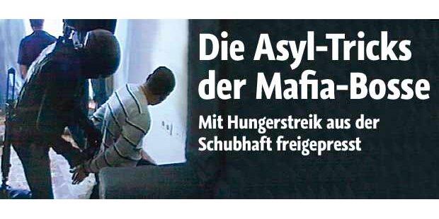 Die Asyl-Tricks der Mafia-Bosse