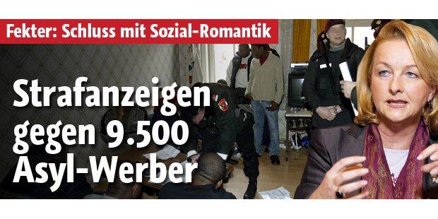 Strafanzeige gegen 9.500 Asyl-Werber