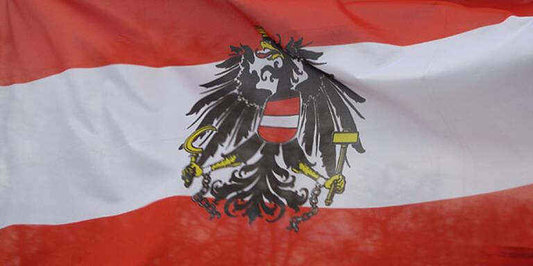 Umfrage: 81% sind stolz auf Österreich