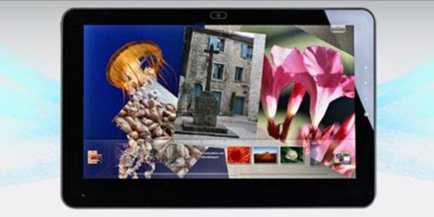 Erstes 3G Tablet mit Windows 7 startet