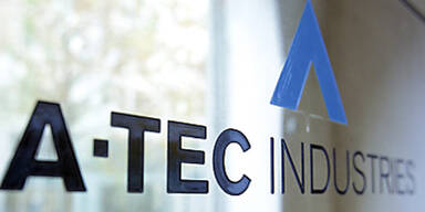 A-Tec Firmenschild