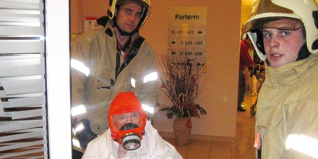 Brand in Altenheim: 4 Bewohner gerettet