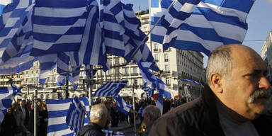 Mega-Demos gegen Sparpolitik