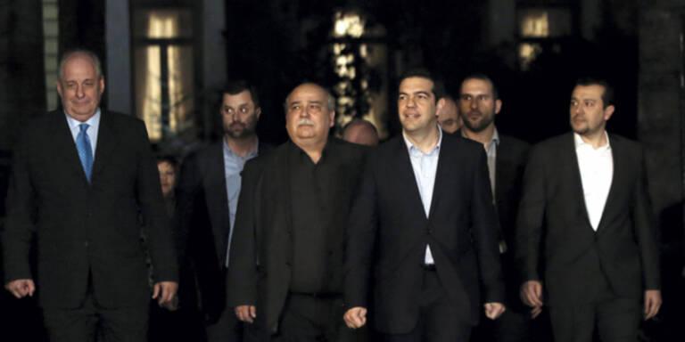 Keine Frau in Griechen-Regierung