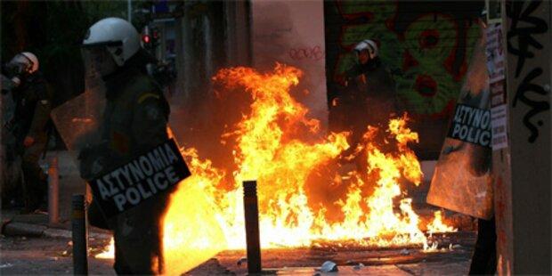 Weitere Festnahmen in Griechenland