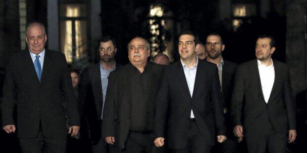 Neue griechische Regierung steht