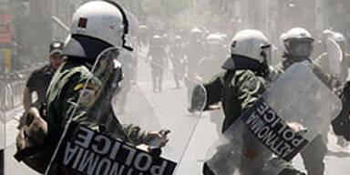 Athen Polizei