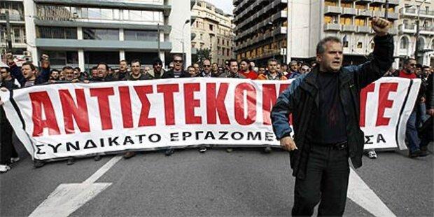 Griechen planen neuen Mega-Streik