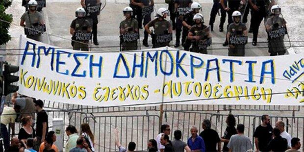Massive Streiks legen Griechenland lahm