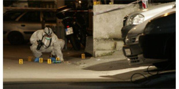 Parkplatz von Fernsehsender in Athen beschossen