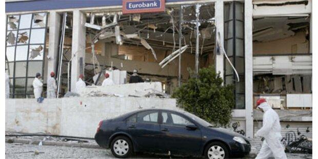Bombenanschlag auf Bank in Athen