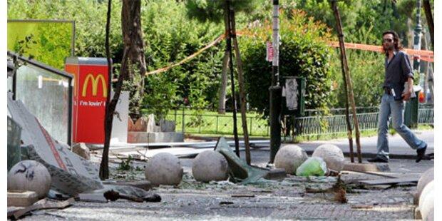 Anschlagsserie in Athen