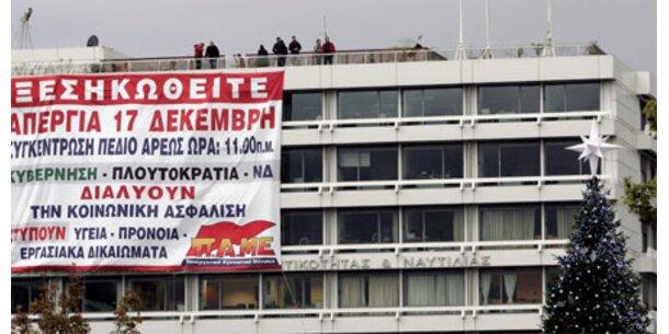 Generalstreik lähmt Griechenland