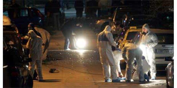 Explosion vor Ministerium in Athen