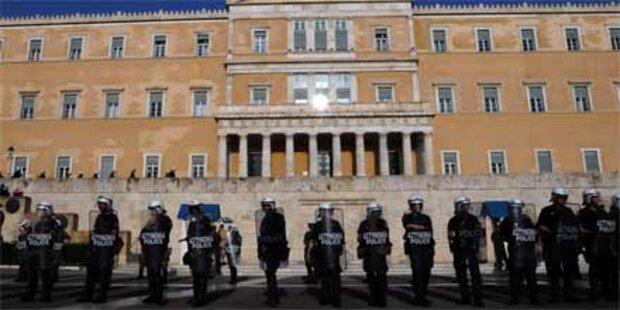 Keine Zwischenfälle in Griechenland