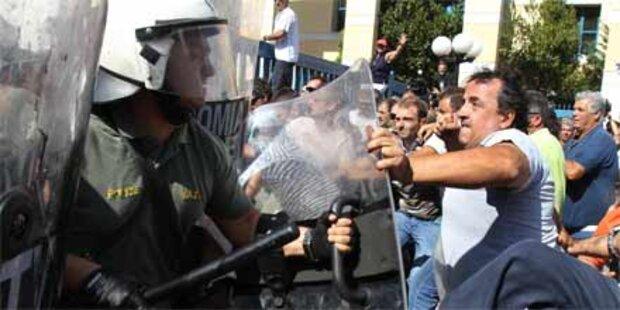 Griechenland weiter lahmgelegt