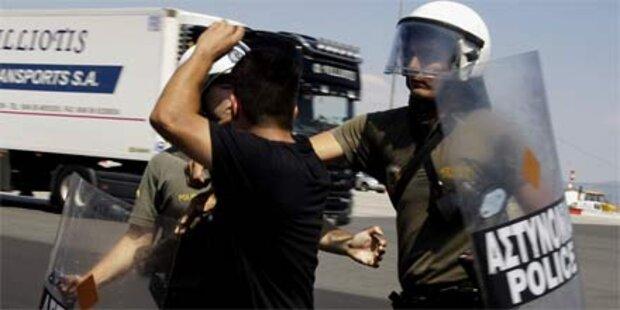 Streik in Griechenland beendet