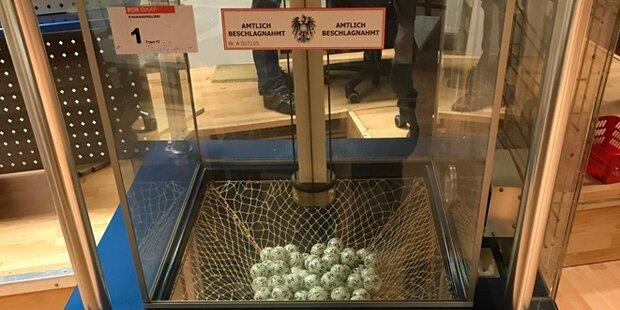 Illegales Casino in Wien ausgehoben