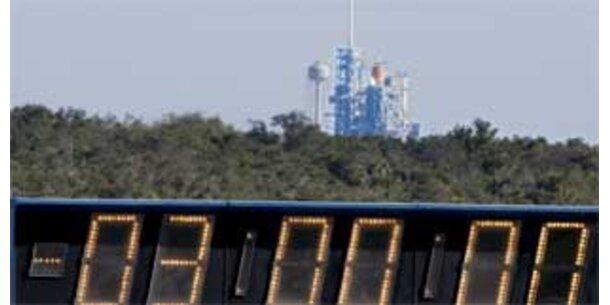 Start der US-Raumfähre wieder abgesagt