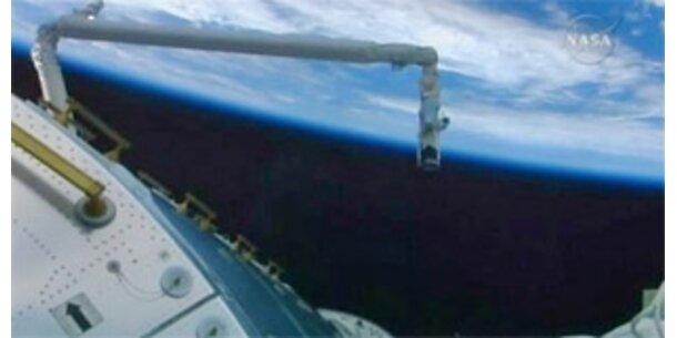 Raumfähre Atlantis erreichte Raumstation ISS