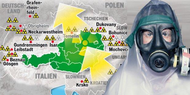 Wieder Atom-Alarm in Österreich