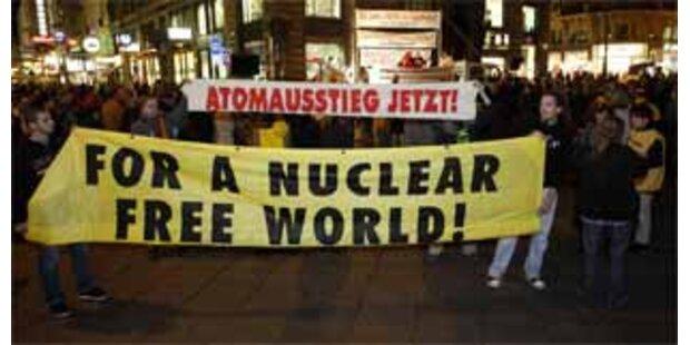 Mäßiges Interesse an Anti-Atom-Demo