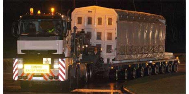Plutonium-Großtransport in Frankreich gestartet
