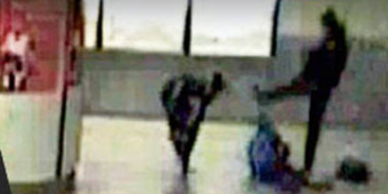 Szene aus Überwachungsvideo