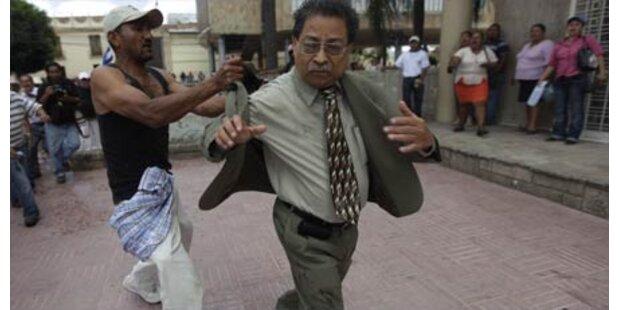 95 Festnahmen bei Krawallen in Honduras