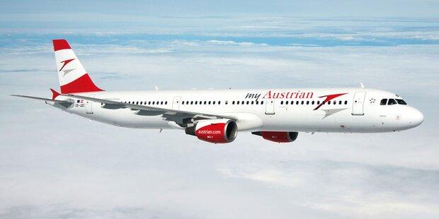 AUA fliegt nur mehr aus Wien nach Deutschland