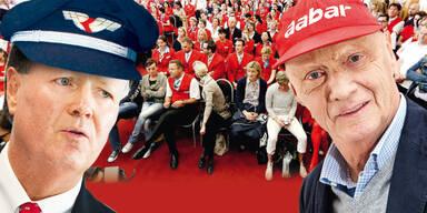 AUA: Betriebsrat macht Angebot zur Einigung