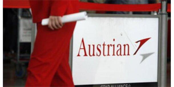 Aktien der AUA stiegen um knapp 17 Prozent