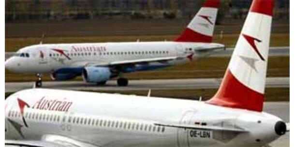 AUA mit weniger Passagieren im September